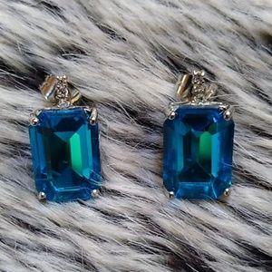 NWOT London Blue Earrings